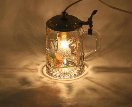 "LAMPE ""A COURRE"""