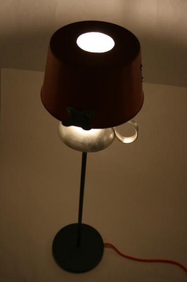 "ARCHIVES LAMPE ""CLEMENTINE"""