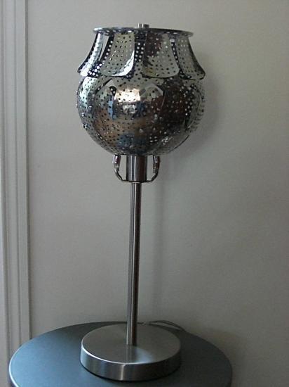 "VENDUE Lampe ""Frangette"""