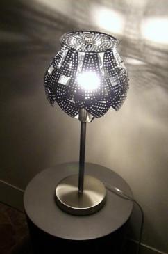 """VENDUE """"Lampe Baroque"""" Série de 3 exemplaires"""