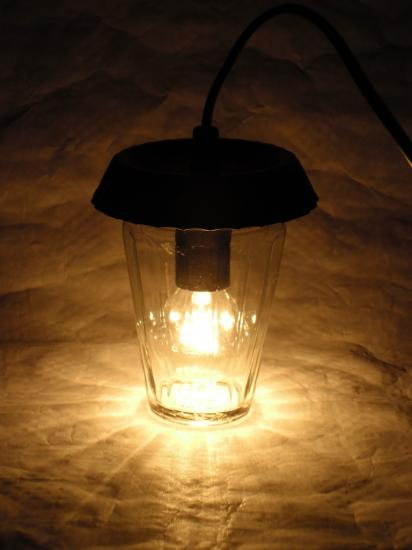"VENDUE Lampe ""Black pie"""