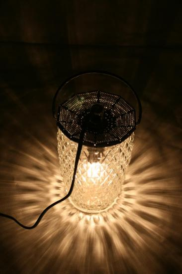 "Lampe ""Lanterne Grise II"""