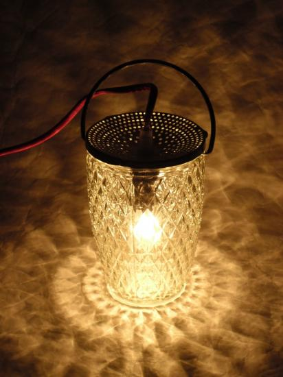 """VENDUE Lampe """"Lanterne Rouge"""""""