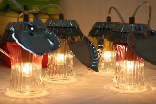 """LAMPES DE PRINTEMPS """"LES 4 PRUNETTES"""""""