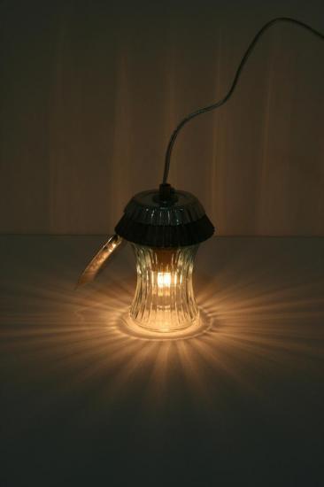 """LAMPE """"PRUNETTE PRUNELLE"""""""