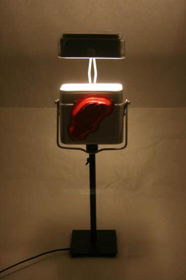 "Lampe ""LITTLE RED CAR"""