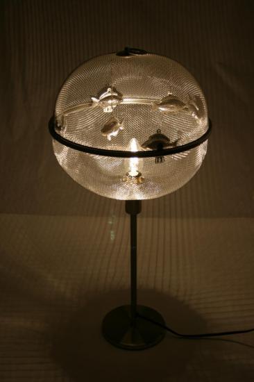 """VENDUE LAMPE """"MARCEL ET GINETTE"""""""