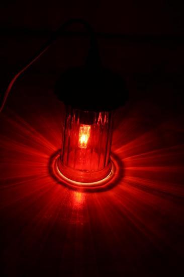 "VENDUE ""Mignardise Cerise"" Lampe"