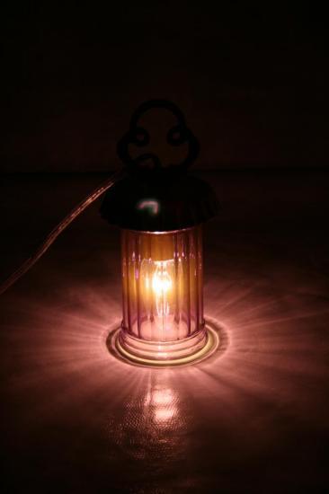 "VENDUE ""Mignardise Mûre"" Lampe"