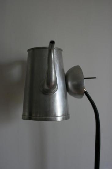"""LAMPADAIRE """"GRAND CREME"""""""