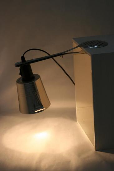 "LAMPE à ETAGERE ""PETITE BULLE"""