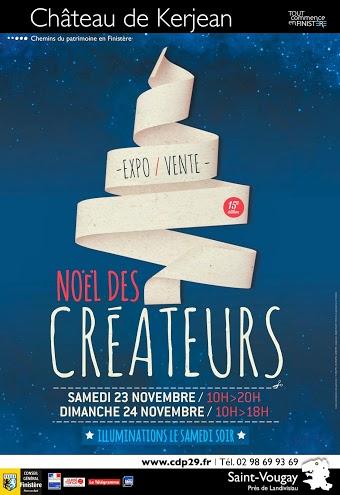 NOEL DES CREATEURS 2013 • CHATEAU DE KERJEAN